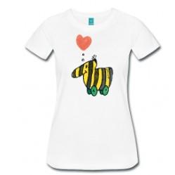 Tigerente mit Herz - Frauen Premium T-Shirt