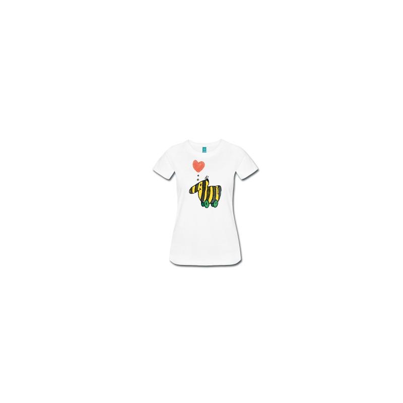 Tigerente mit Herz - Frauen Premium T-Shirt Spreadshirt Shirts für...