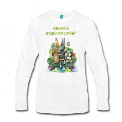 Bremer Stadtmusikant - Männer Premium Langarmshirt