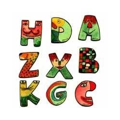 Holzbuchstaben 6 cm