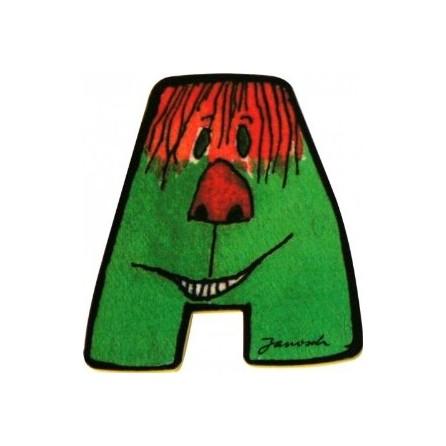 Janosch Holzbuchstaben 6 cm