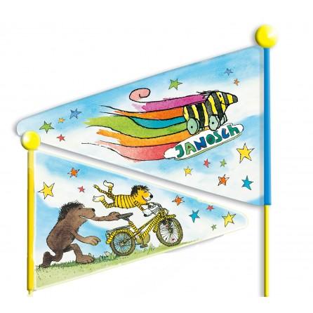 Janosch Fahrrad-Sicherheitswimpel