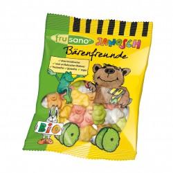 FRUSANO - Bio Bärenfreunde - Gummibären ohne Gelatine, 50g