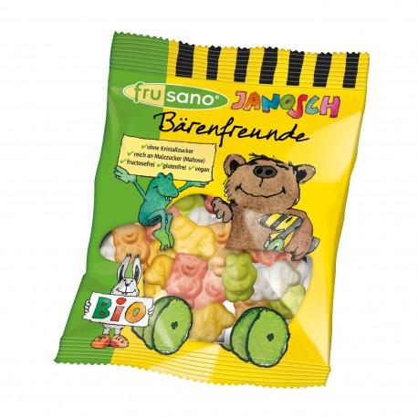 FRUSANO - Bio Bärenfreunde - Gummibären ohne Gelatine