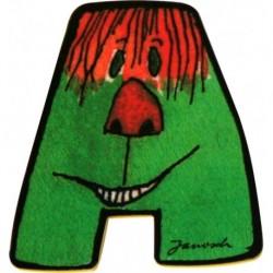 Janosch Holzbuchstabe A