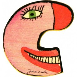 Janosch Holzbuchstabe C
