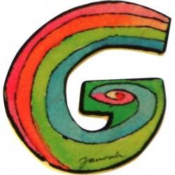 Janosch Holzbuchstabe G