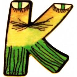 Janosch Holzbuchstabe K