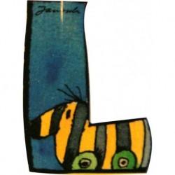 Janosch Holzbuchstabe L