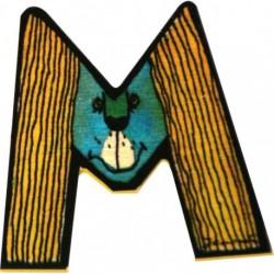 Janosch Holzbuchstabe M