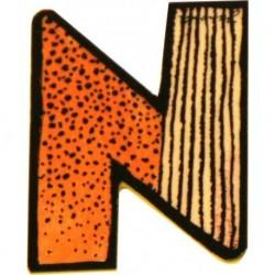 Janosch Holzbuchstabe N