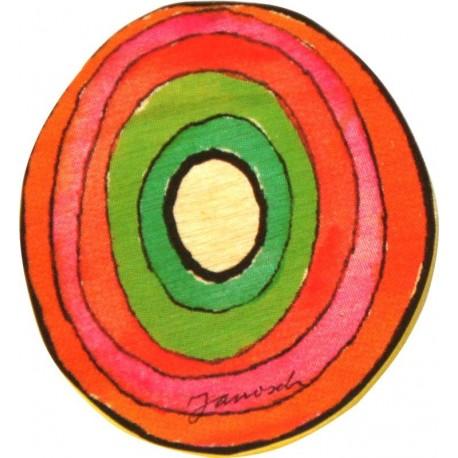 Janosch Holzbuchstabe O