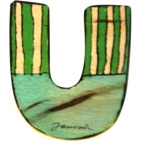 Janosch Holzbuchstabe U