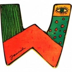 Janosch Holzbuchstabe W