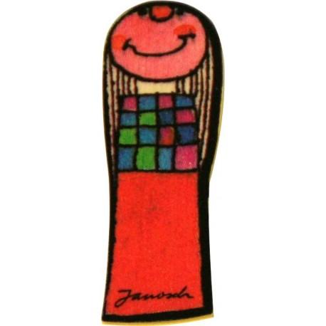 Janosch Holzbuchstabe I
