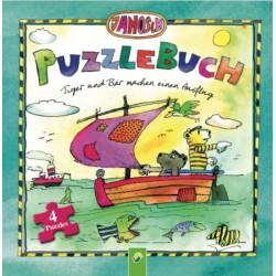 Puzzlebuch - Tiger und Bär machen einen Ausflug
