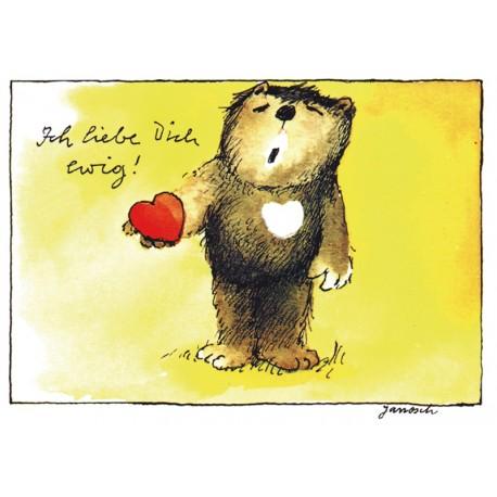 Ich liebe Dich ewig! (Postkarte DIN A6)
