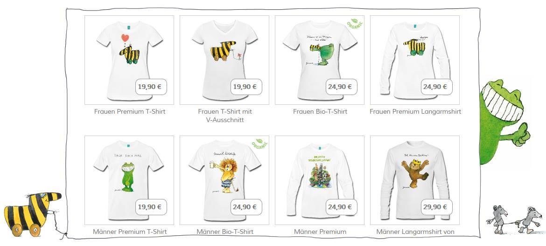 Janosch T-Shirts für Erwachsene