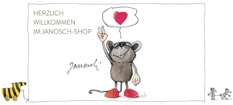 Herzlich Willkommen auf unseren neuen Janosch Online Shop