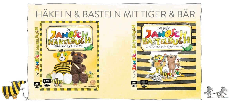 Janosch Bastel- und Häkelbuch
